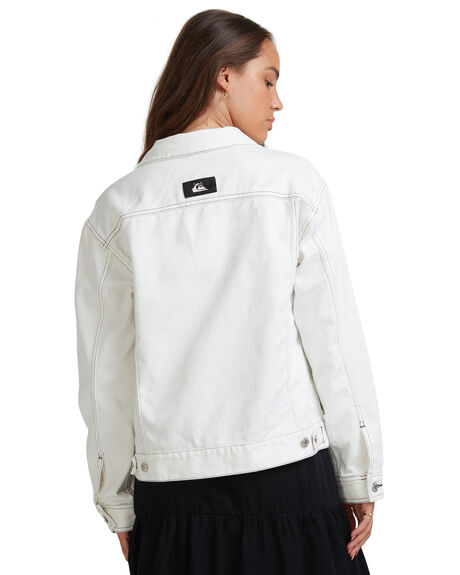 LILY WHITE WOMENS CLOTHING QUIKSILVER JACKETS - EQWJK03016-WCQ0
