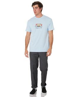 POWDER BLUE MENS CLOTHING PASS PORT TEES - PPMOVINGPWBLUE