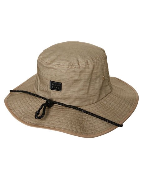 LIGHT KHAKI MENS ACCESSORIES BILLABONG HEADWEAR - 9671327BLKHA