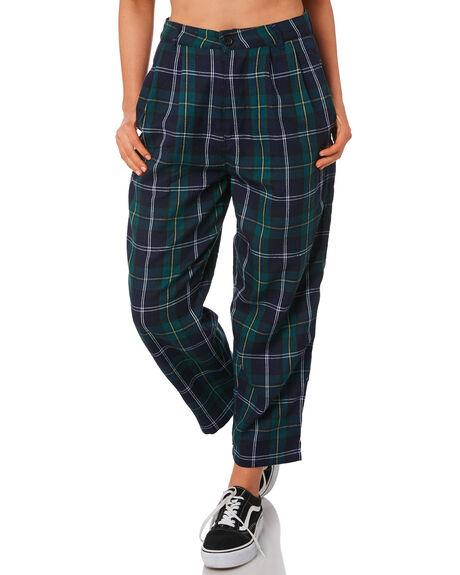 NAVY BOTTLE WOMENS CLOTHING STUSSY PANTS - ST191617BOT