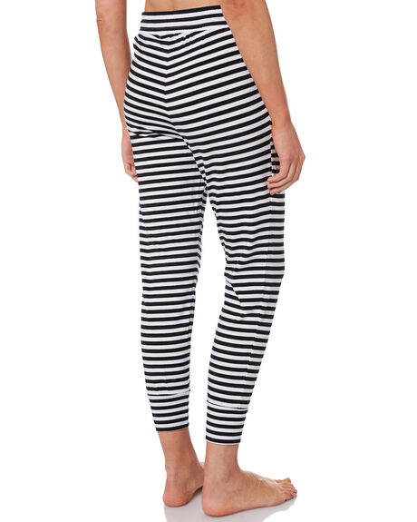 BLACK WOMENS CLOTHING SILENT THEORY PANTS - 6041012BLK