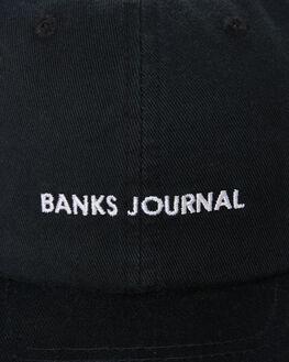 DIRTY BLACK MENS ACCESSORIES BANKS HEADWEAR - HA0101DBL