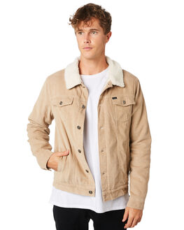 KHAKI MENS CLOTHING RIP CURL JACKETS - CJKEE10064