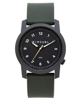 MILITARY GREEN MENS ACCESSORIES RIP CURL WATCHES - A30880854