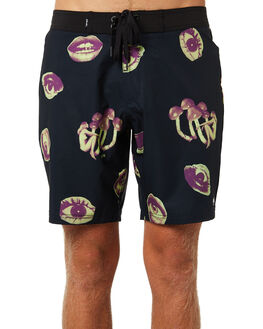 NAVY MENS CLOTHING AFENDS BOARDSHORTS - M184303NVY