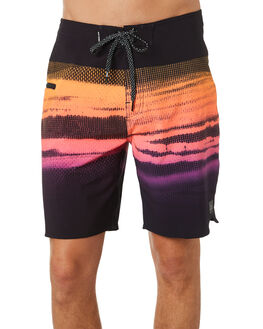 BLACK MENS CLOTHING RIP CURL BOARDSHORTS - CBOAB90090