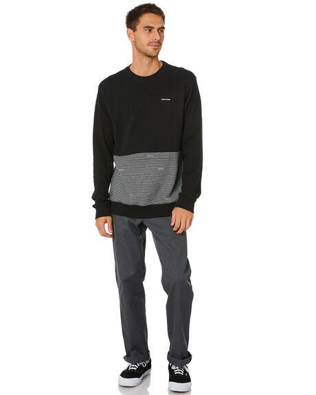 BLACK MENS CLOTHING VOLCOM JUMPERS - A4612017BLK