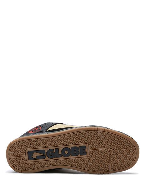 BLACK KHAKI MENS FOOTWEAR GLOBE SNEAKERS - GBTILT-20450