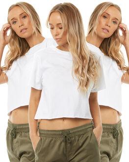 WHITE WOMENS CLOTHING SWELL TEES - S81820033PCKWHITE