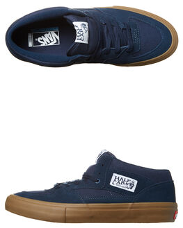 NAVY GUM MENS FOOTWEAR VANS SKATE SHOES - VN-08CPNGMBLU