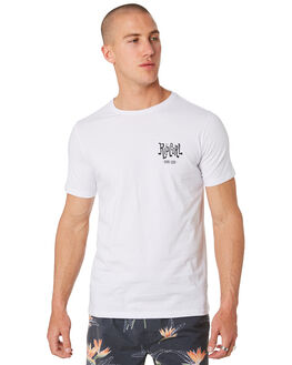 WHITE MENS CLOTHING RIP CURL TEES - CTEJM91000