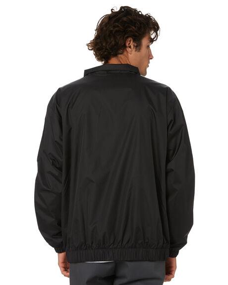 BLACK WHITE MENS CLOTHING ADIDAS JACKETS - GL9928BKW