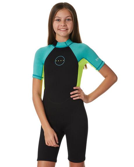 TURQUOISE BOARDSPORTS SURF PEAK GIRLS - PM404G0074