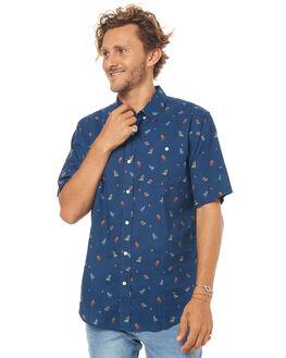 NAVY MENS CLOTHING EZEKIEL SHIRTS - ES173054NAVY
