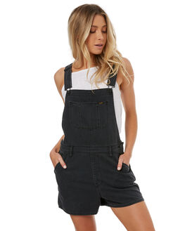 AURA BLACK WOMENS CLOTHING LEE PLAYSUITS + OVERALLS - L-656318-DP2