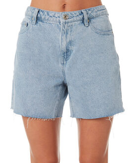 LIGHT BLUE WOMENS CLOTHING SILENT THEORY SHORTS - 6096119BLU