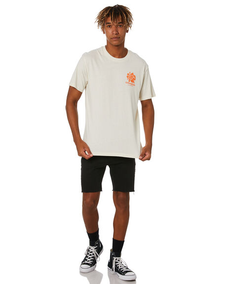 DIRTY WHITE MENS CLOTHING THE CRITICAL SLIDE SOCIETY TEES - TE2034DTW