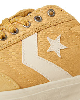 CLUB GOLD MENS FOOTWEAR CONVERSE SKATE SHOES - 163201CGOLD