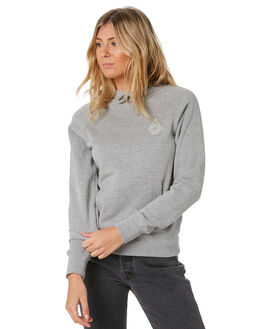 GREY MARLE WOMENS CLOTHING VOLCOM JUMPERS - B3111886-GMRL