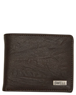 CHOCOLATE OUTLET MENS SWELL WALLETS - SW-AW-001CHOCO