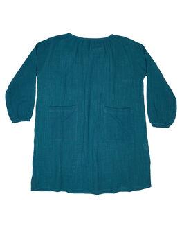 TEAL KIDS GIRLS CHILDREN OF THE TRIBE DRESSES + PLAYSUITS - GRDR0369TEAL