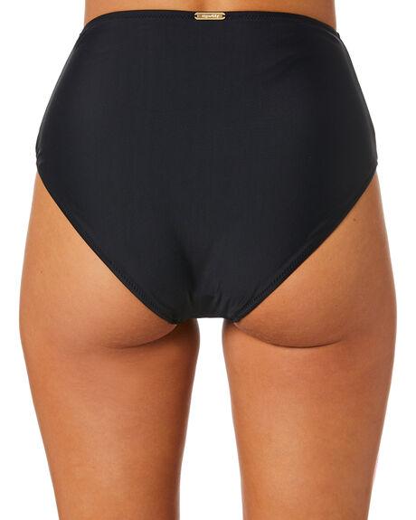 BLACK WOMENS SWIMWEAR TIGERLILY BIKINI BOTTOMS - T515085BLK