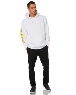 WHITE MENS CLOTHING HUF JUMPERS - PF00337-WHT