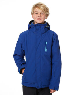 SODALITE BLUE SNOW OUTERWEAR QUIKSILVER JACKETS - EQBTJ03036BYB0