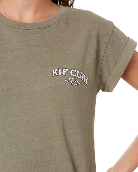 VETIVER WOMENS CLOTHING RIP CURL TEES - GTECM20830