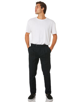 BLACK MENS CLOTHING ZANEROBE PANTS - 710-VERBLK