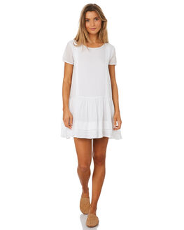 WHITE WOMENS CLOTHING MLM LABEL DRESSES - MLM422AWHT