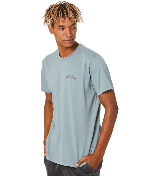 LIGHT BLUE MENS CLOTHING KATIN TEES - TSSTI06LTBLU