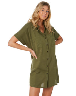 KHAKI WOMENS CLOTHING SWELL DRESSES - S8201455KHAKI
