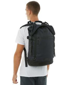 BLACK MENS ACCESSORIES DEPACTUS BAGS + BACKPACKS - D51831500BLK