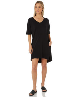 BLACK WOMENS CLOTHING SWELL DRESSES - S8183450BLACK