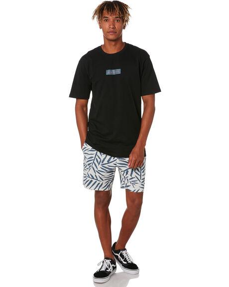 BLACK MENS CLOTHING STAY TEES - STE-20101BLK