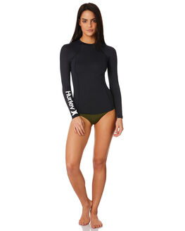 BLACK WOMENS SWIMWEAR HURLEY ONE PIECES - AJ2649010