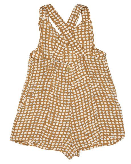 GOLD KIDS GIRLS RIP CURL DRESSES + PLAYSUITS - FDRAZ10146