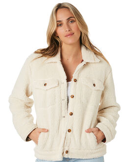WINTER WHITE WOMENS CLOTHING O'NEILL JACKETS - HO9402002WWT