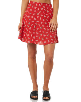 RAD RED WOMENS CLOTHING VOLCOM SKIRTS - B1431801RAD