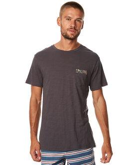 CHARCOAL MENS CLOTHING RHYTHM TEES - APR17-CT03CHAR