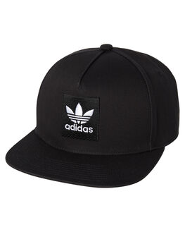 BLACK MENS ACCESSORIES ADIDAS HEADWEAR - DH2568BLK