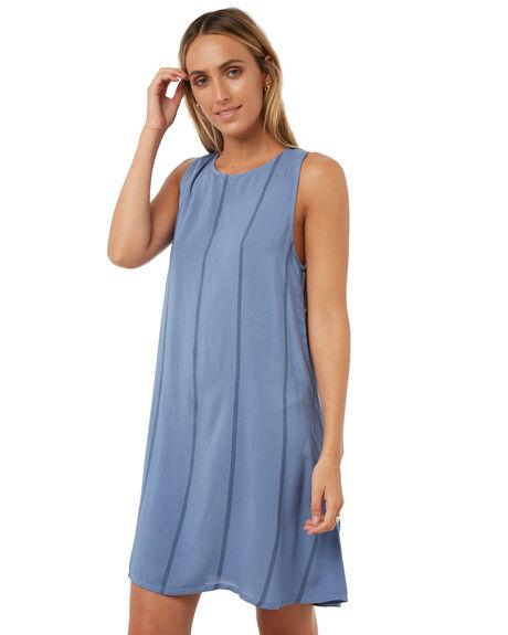 BLUE STRIPE WOMENS CLOTHING ELWOOD DRESSES - W73714BSTR