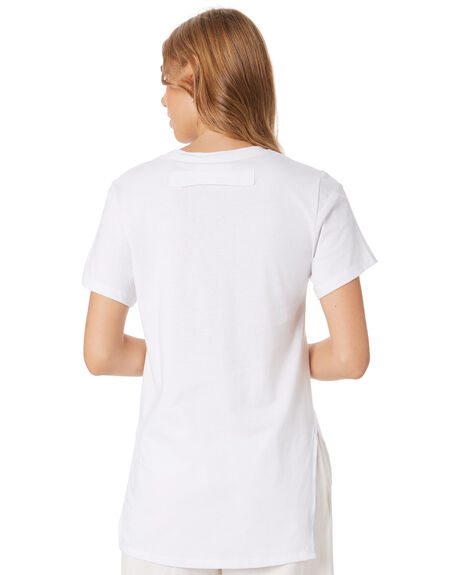 WHITE WOMENS CLOTHING GINGER AND SMART TEES - R20112WHT