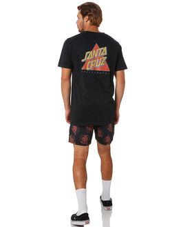 LIGHT ACID BLACK MENS CLOTHING SANTA CRUZ TEES - SC-MTA0544ACBLK