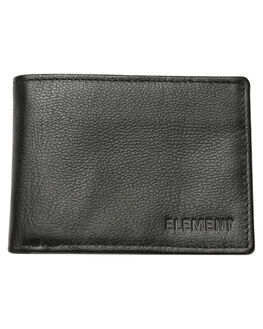 FLINT BLACK MENS ACCESSORIES ELEMENT WALLETS - 174571AFBLK