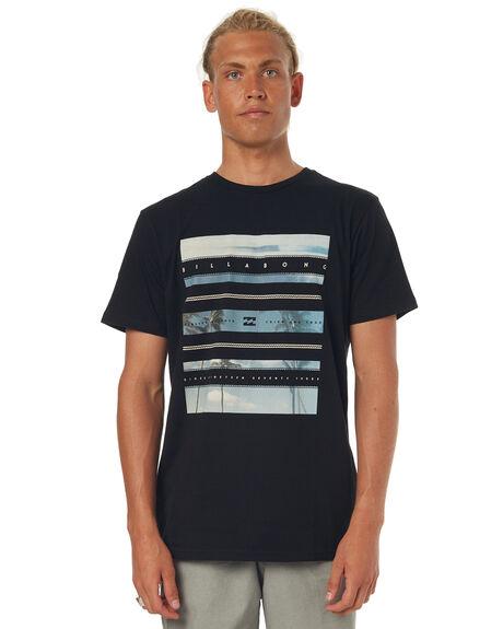 BLACK MENS CLOTHING BILLABONG TEES - 9571067XBLK