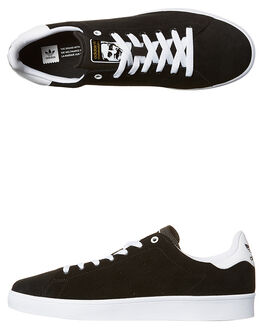 BLACK BLACK WHITE MENS FOOTWEAR ADIDAS ORIGINALS SKATE SHOES - SSBB8743BLKM
