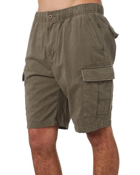 RIFLE GREEN MENS CLOTHING RUSTY SHORTS - WKM0918RFG