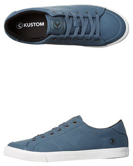 STEEL BLUE MENS FOOTWEAR KUSTOM SNEAKERS - 4981116NSBLU